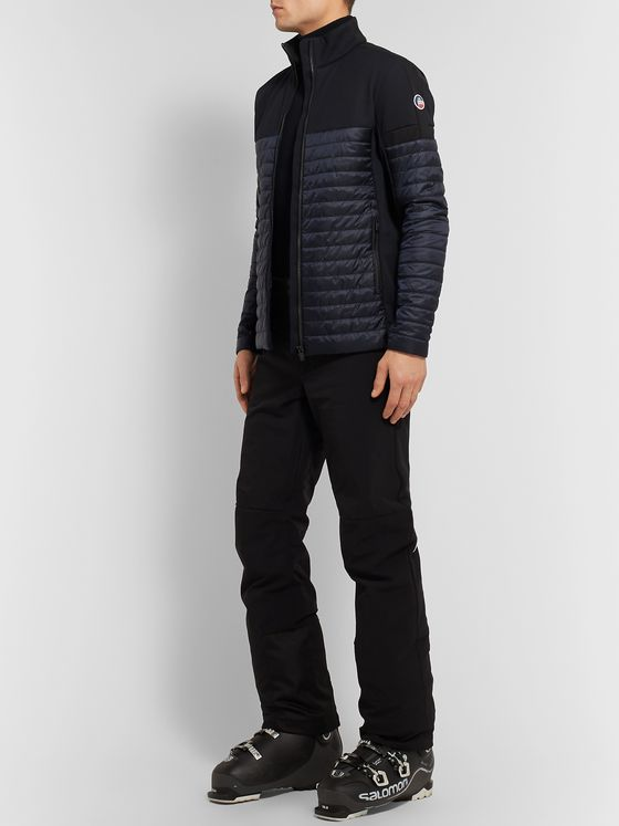 Fusalp Estaris Fleece-Panelled Quilted Shell Ski Jacket