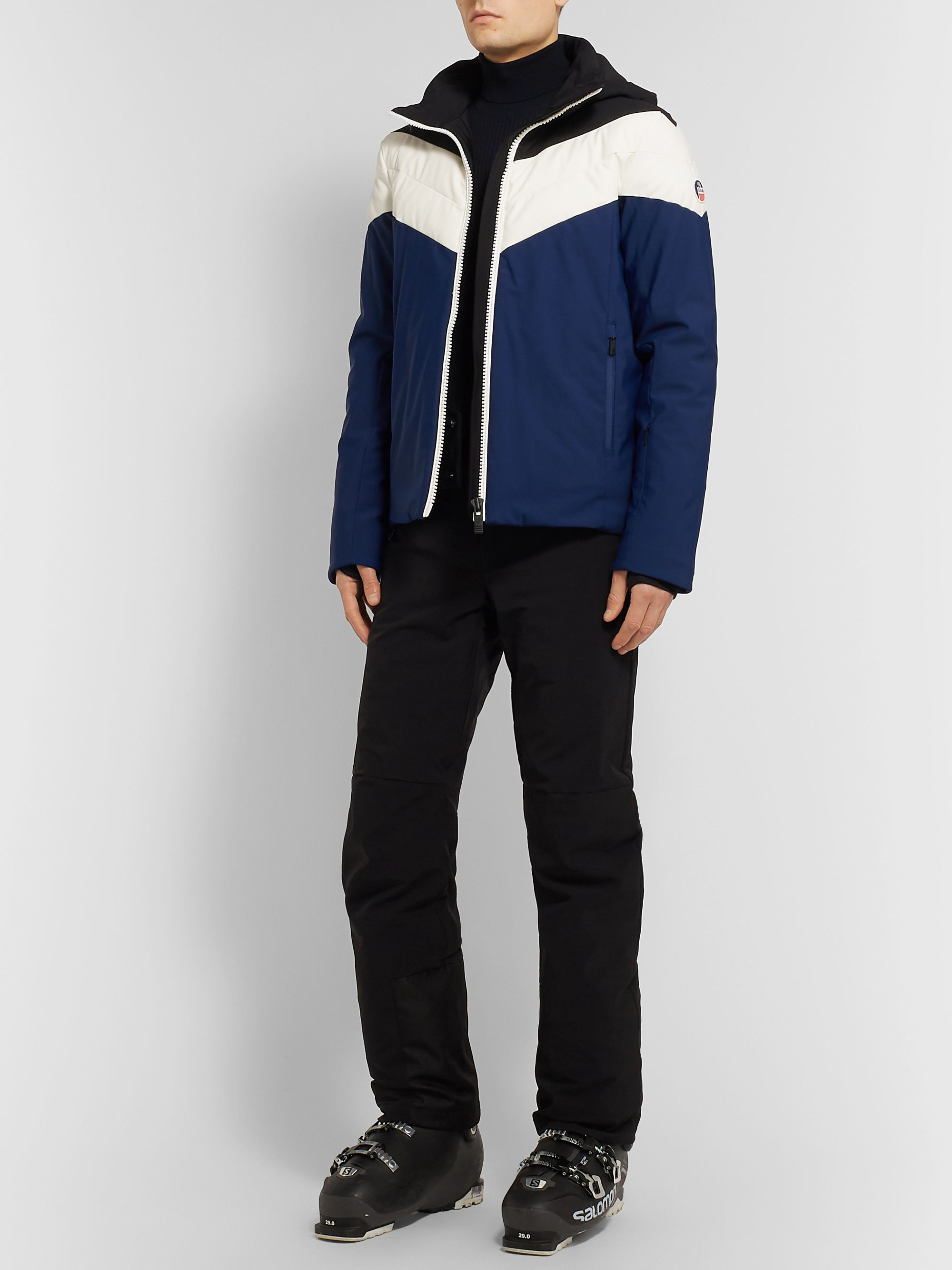 Fusalp Sands Colour-Block Hooded Ski Jacket