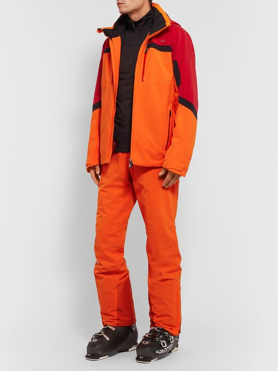 Kjus Speed Reader Colour-Block Hooded Ski Jacket