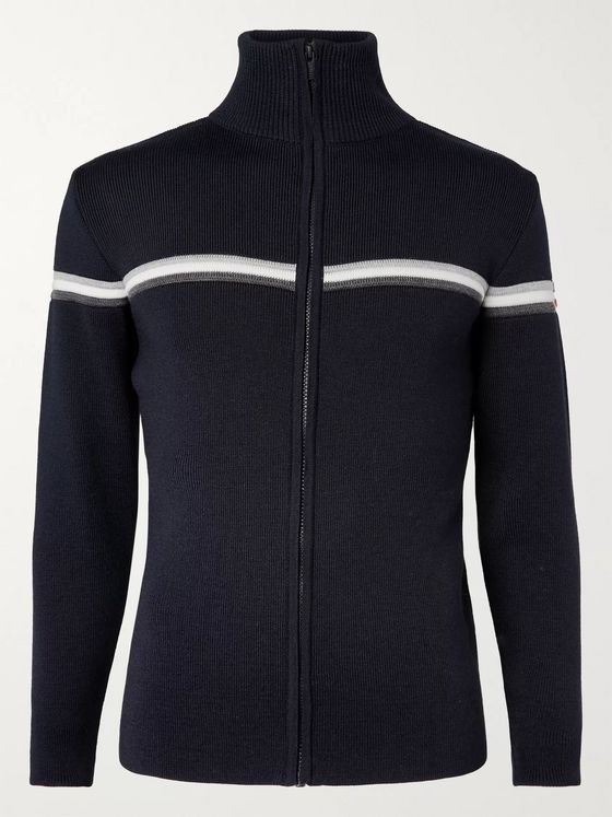 Fusalp Wengen II Slim-Fit Merino Wool Zip-Up Ski Mid-Layer