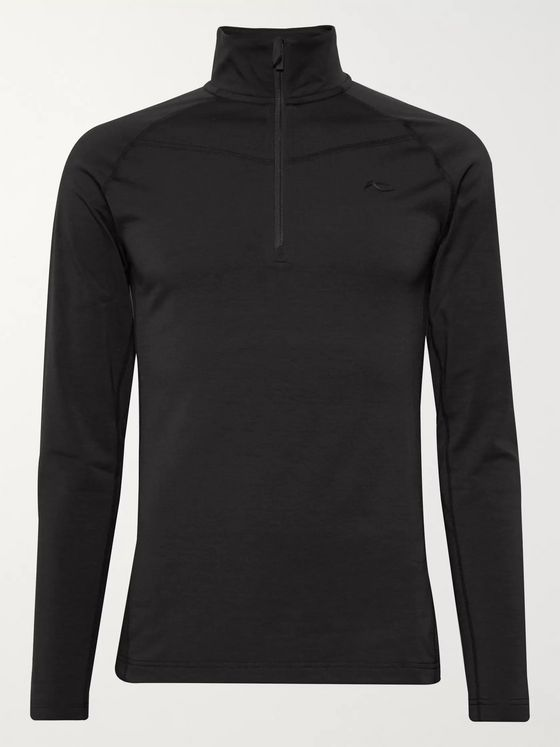 Kjus Trace Stretch-Jersey Half-Zip Ski Mid-Layer