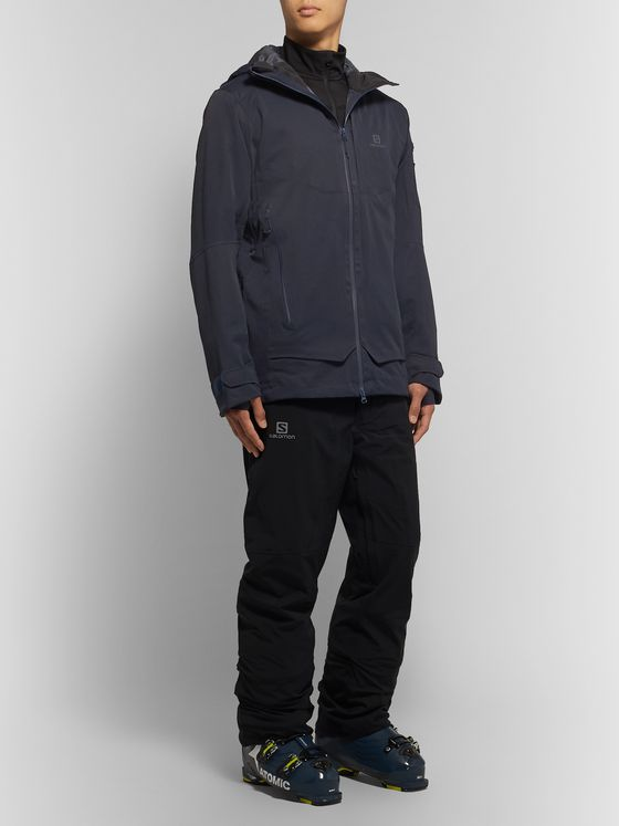 SALOMON QST Guard Hooded Ski Jacket