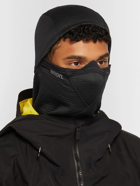 Anon MFI Logo-Print Polartec Power Grid Fleece Balaclava