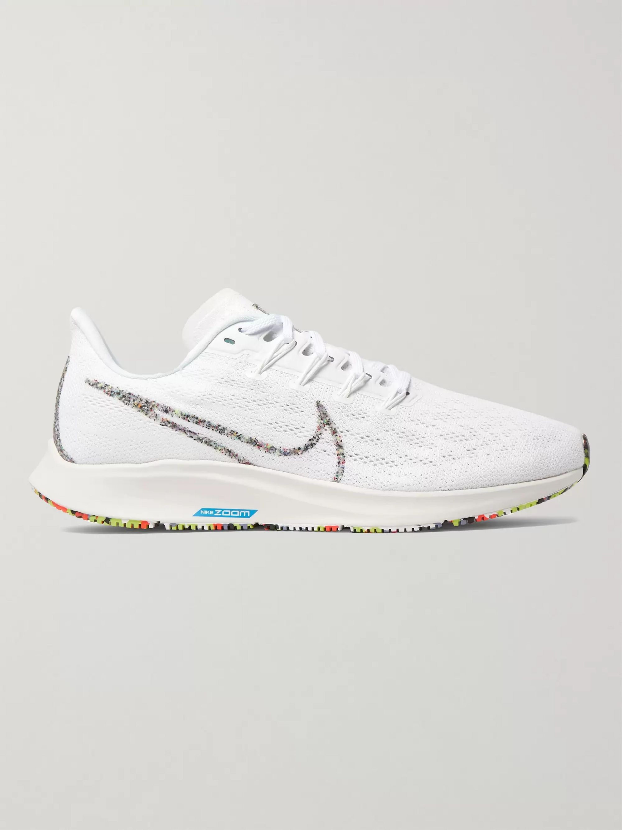 Nike Running Air Zoom Pegasus 36 Mesh and Rubber Running Sneakers