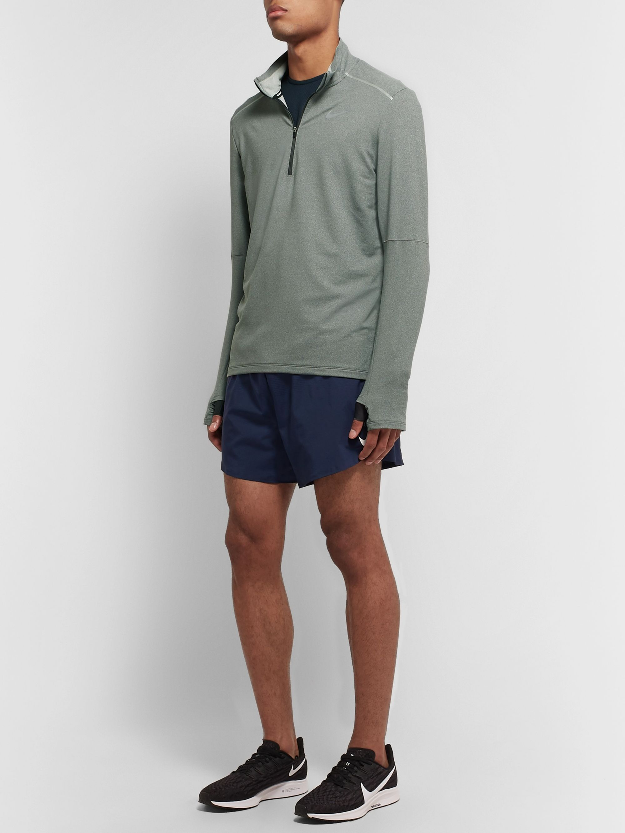 Nike Running Element 3.0 Loopback Dri-FIT Half-Zip Top