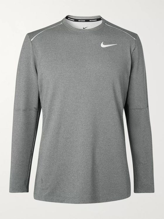 Nike Running Element Mélange Dri-FIT Running T-Shirt
