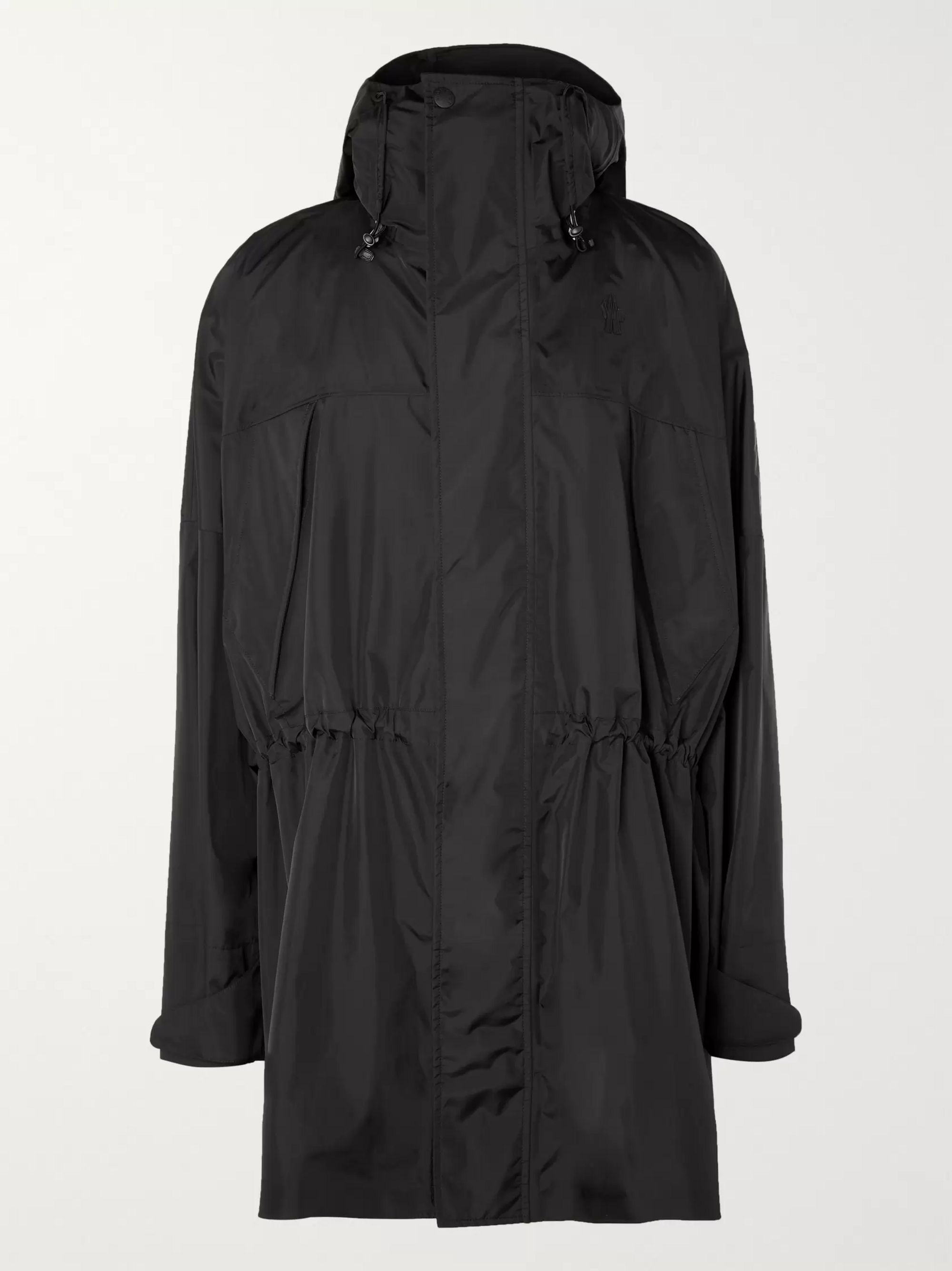 Moncler Genius Hooded Shell Coat