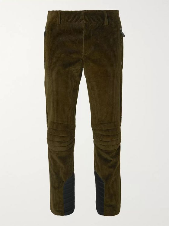 Moncler Genius + 3 Grenoble Stretch Tech Cotton-Corduroy Ski Trousers
