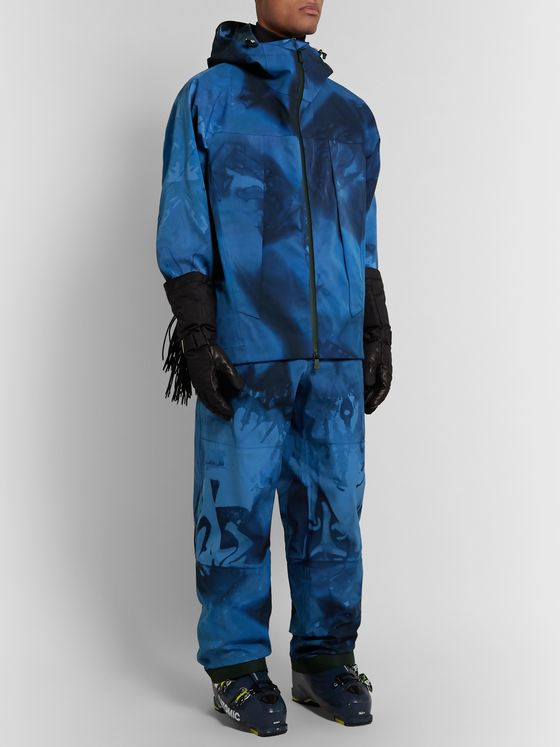 Moncler Genius 3 Grenoble Tie-Dyed Ski Trousers