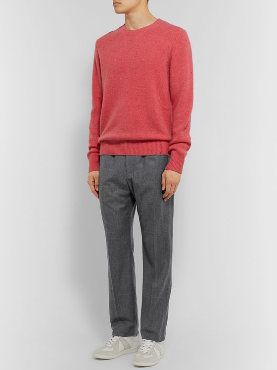 Helmut Lang Striped Wool Trousers