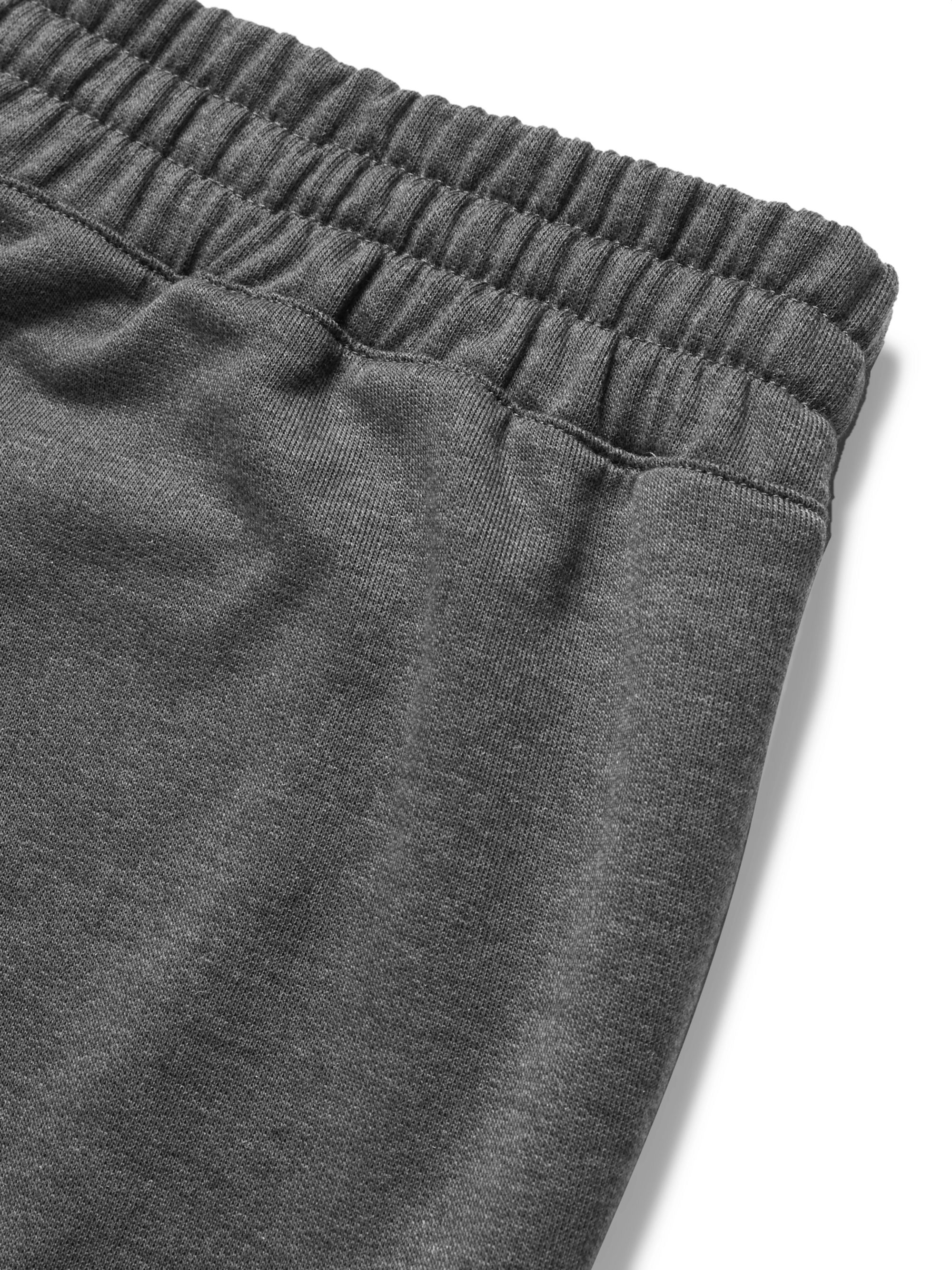 On Slim-Fit Tapered Panelled Tech-Jersey Sweatpants