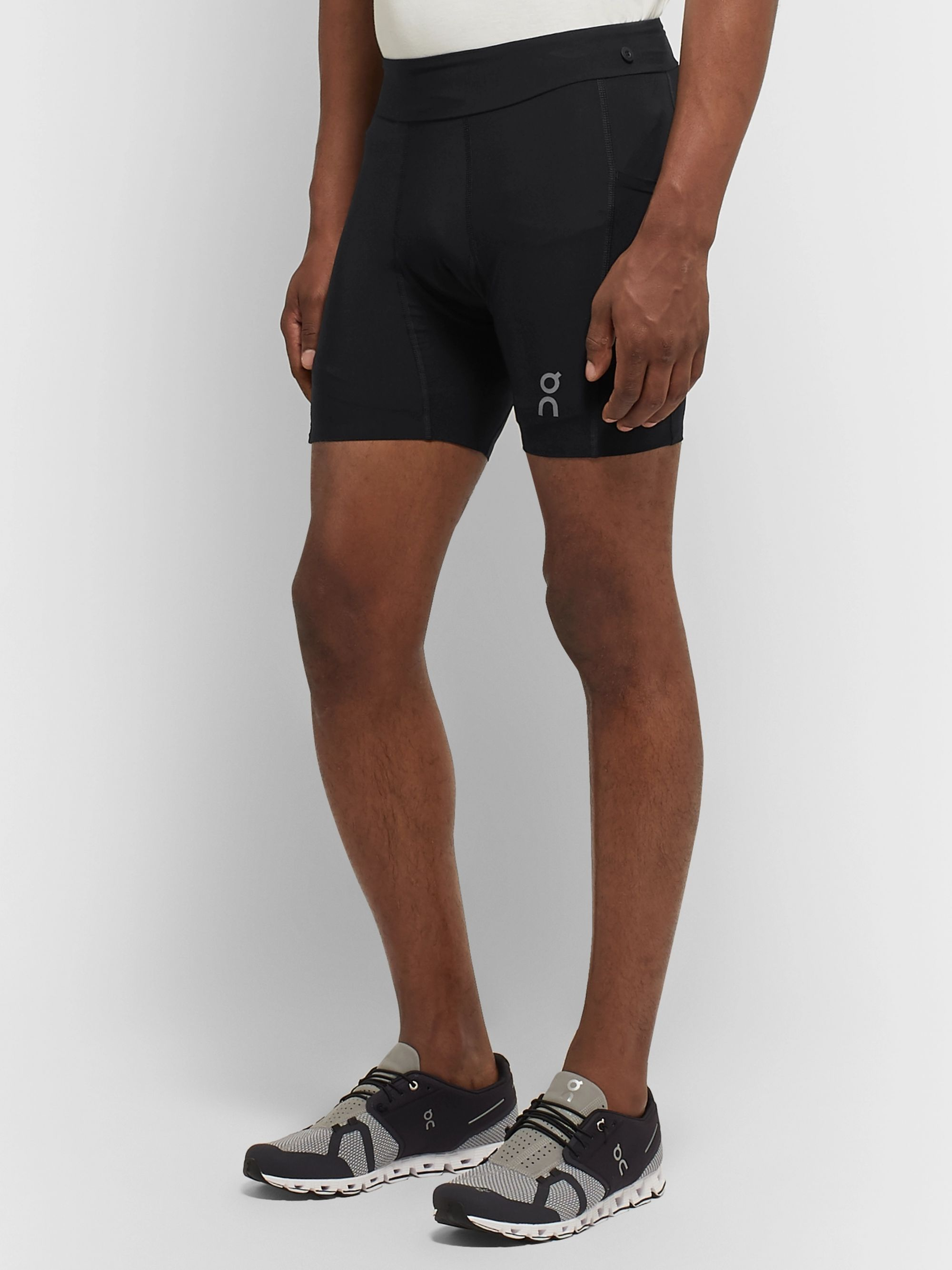 On Hybrid 2-in-1 Stretch-Jersey Shorts