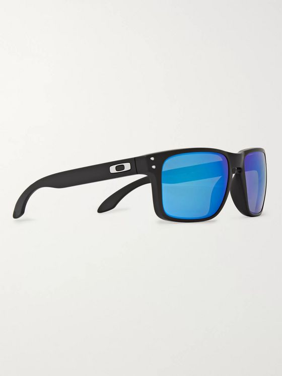 Oakley Holbrook Square-Frame Acetate Polarised Sunglasses