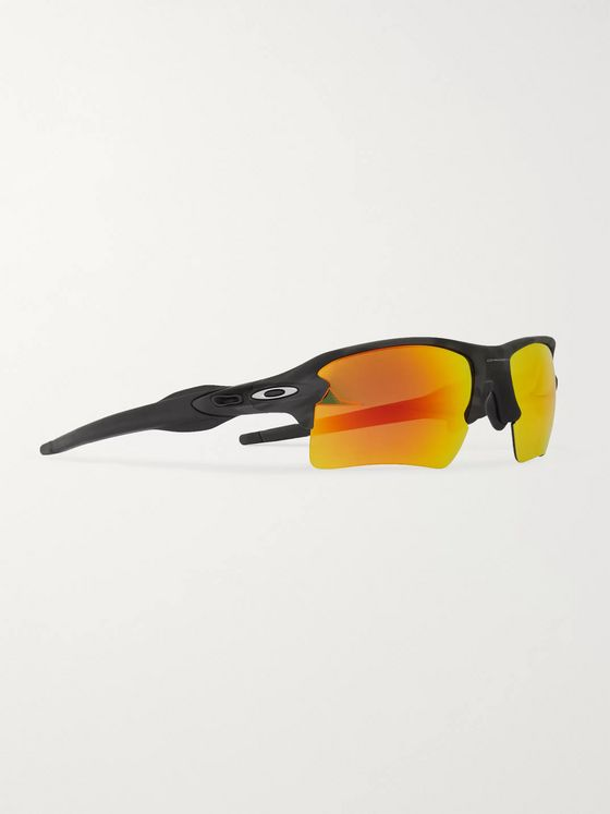 Oakley Flak 2.0 Square-Frame Acetate Polarised Sunglasses