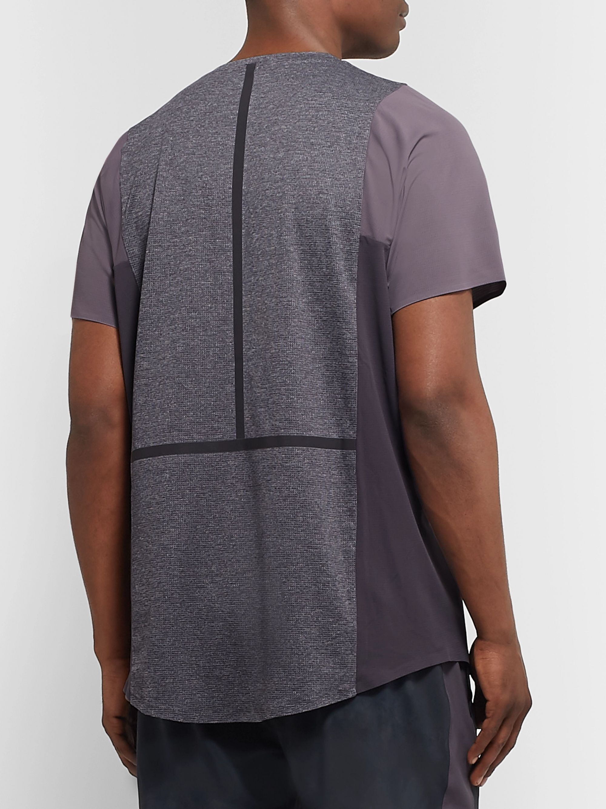 Lululemon + Robert Geller Take the Moment Stretch-Mesh T-Shirt