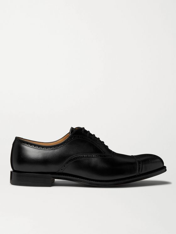 CHURCH'S Toronto Cap-Toe Leather Brogues
