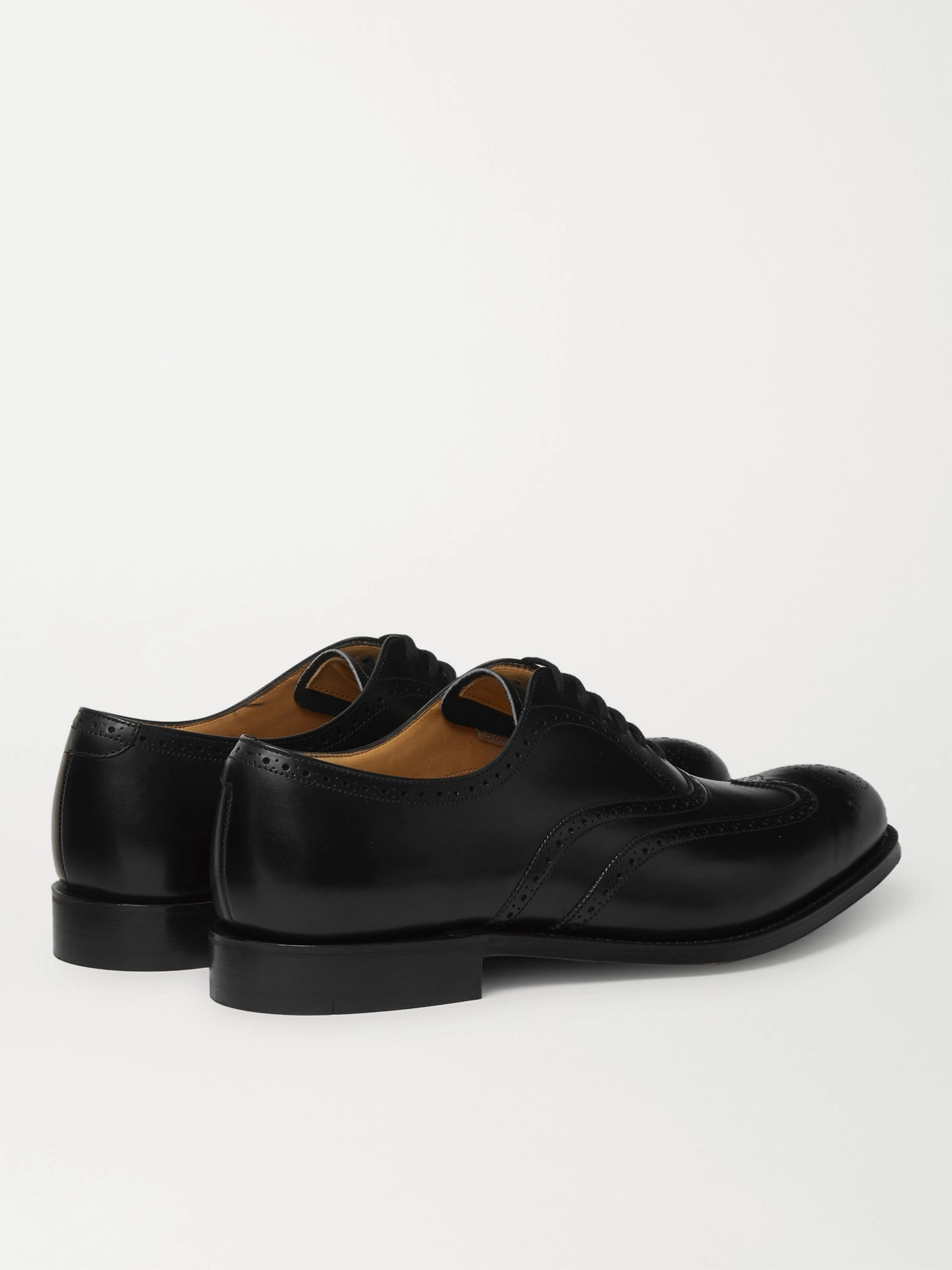 CHURCH'S Berlin Leather Wingtip Brogues