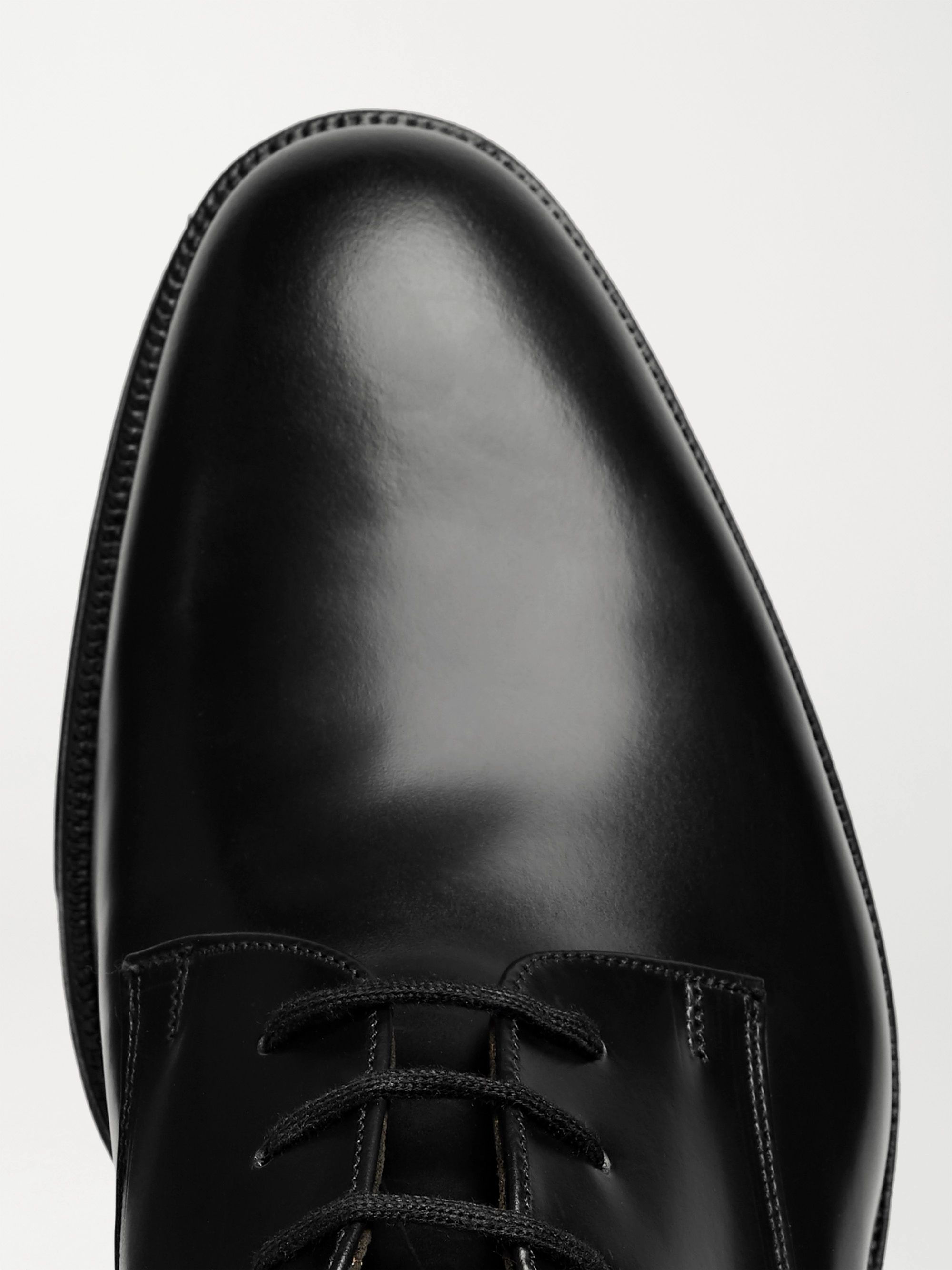 Black Oslo Polished-leather Derby Shoes | Church's
