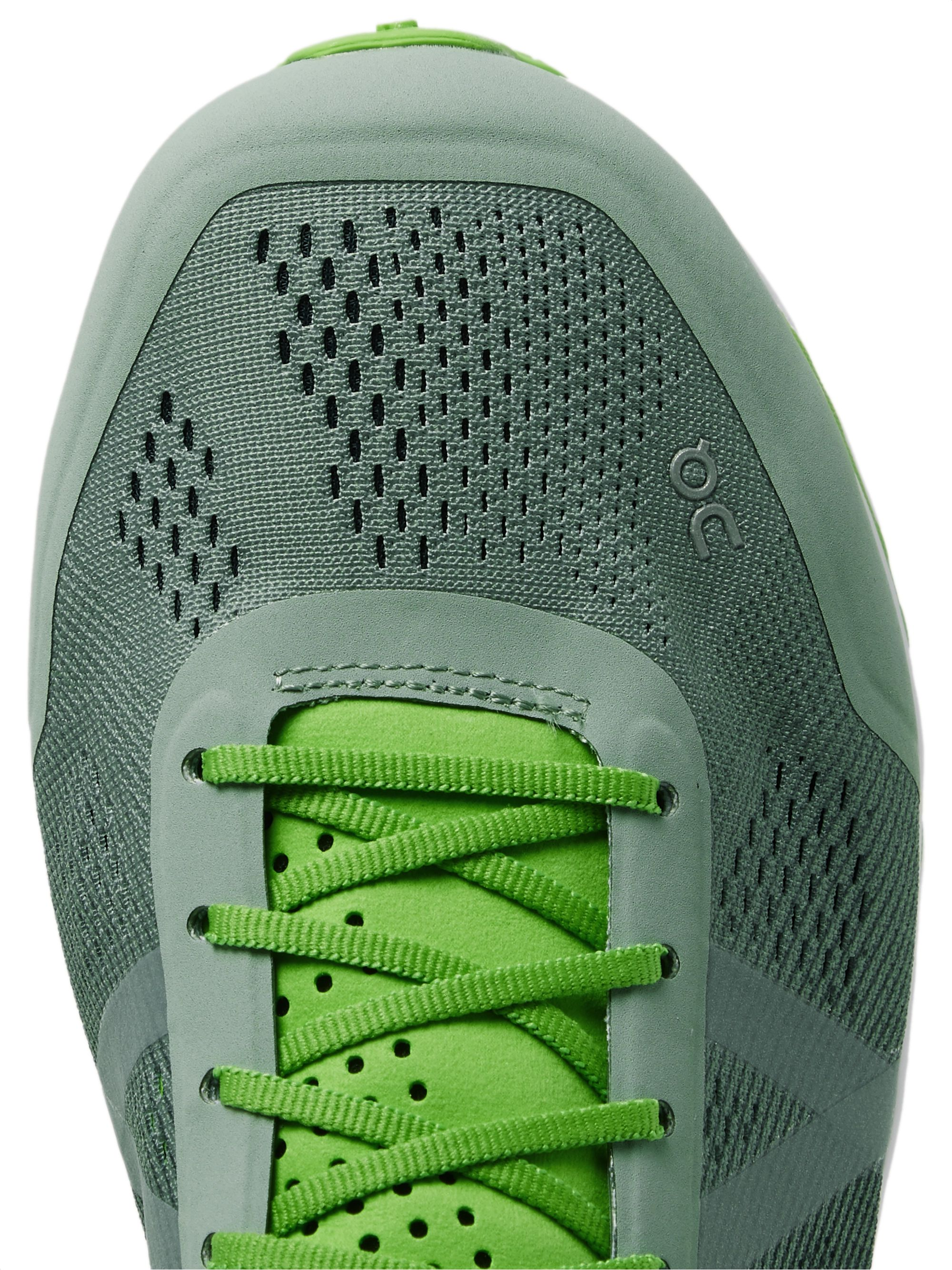 On Cloudflow Rubber-Trimmed Mesh and Shell Running Sneakers