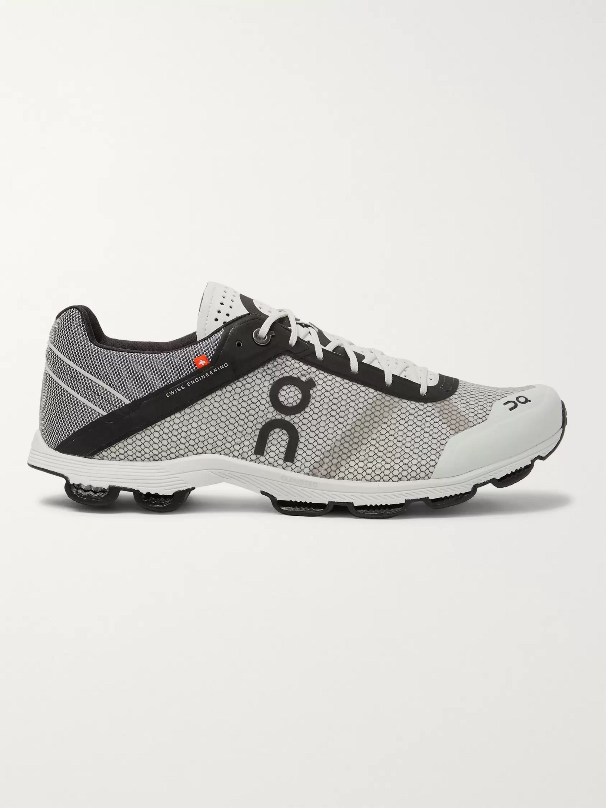 On Cloudrush Mesh Running Sneakers