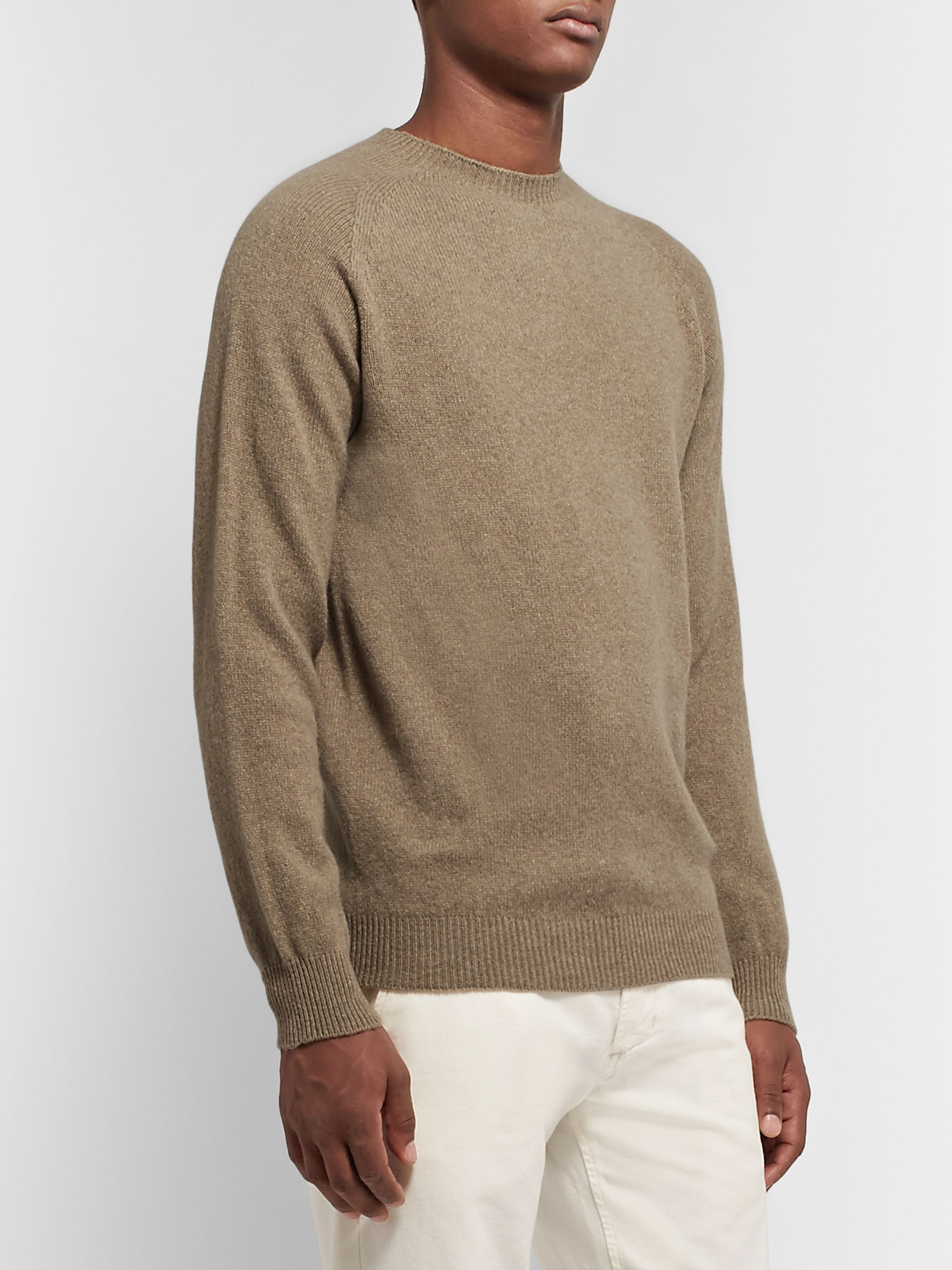 Sunspel Slim-Fit Wool Sweater