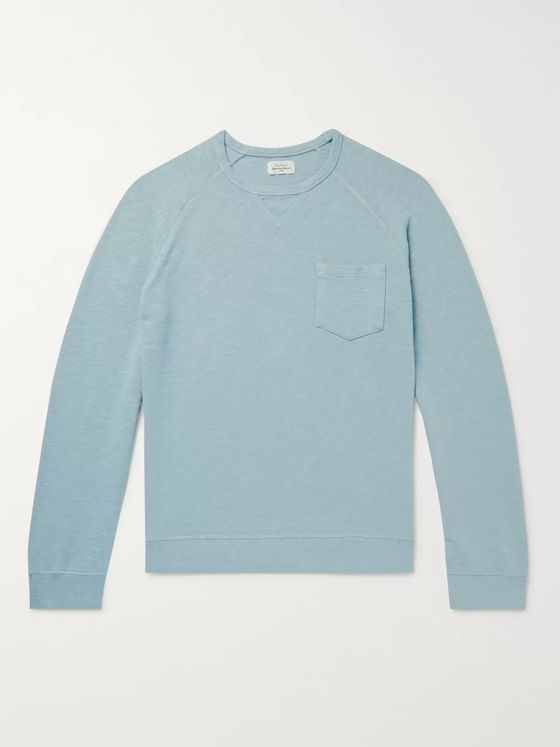 Hartford Mélange Loopback Cotton-Jersey Sweatshirt