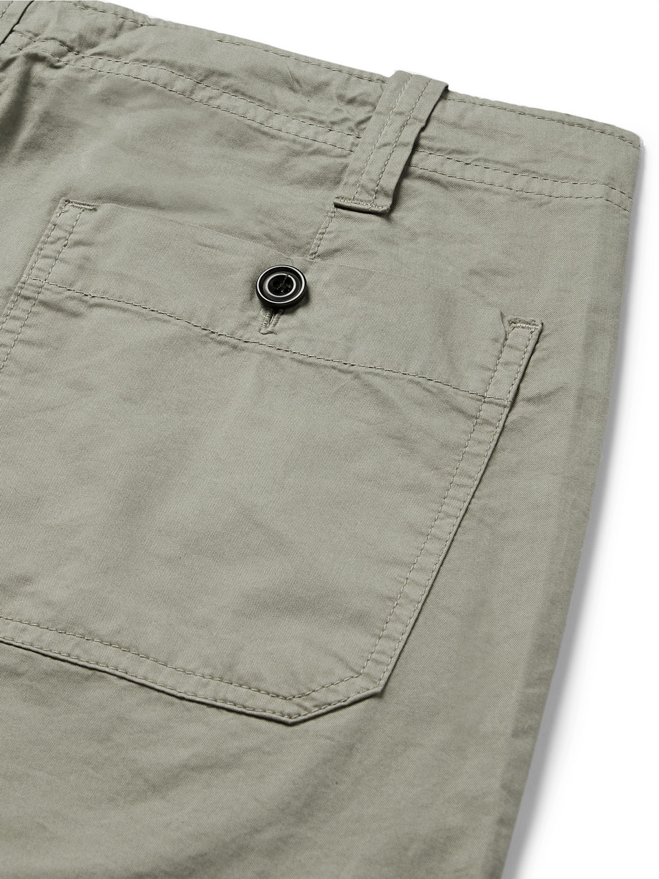Hartford Troy Slim-Fit Cotton Drawstring Trousers