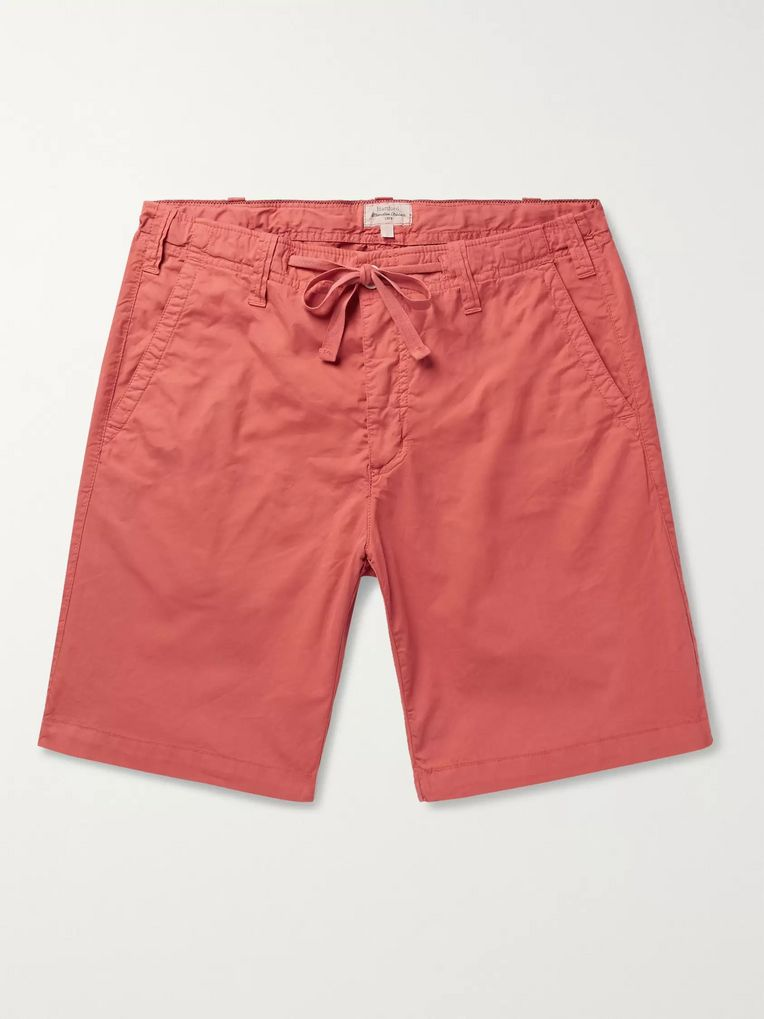 Hartford Boy Slim-Fit Cotton Drawstring Shorts