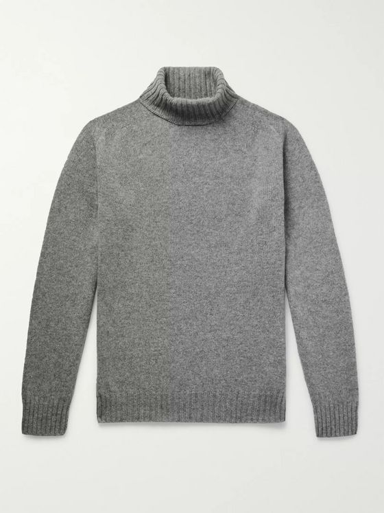 Officine Generale Wool Rollneck Sweater