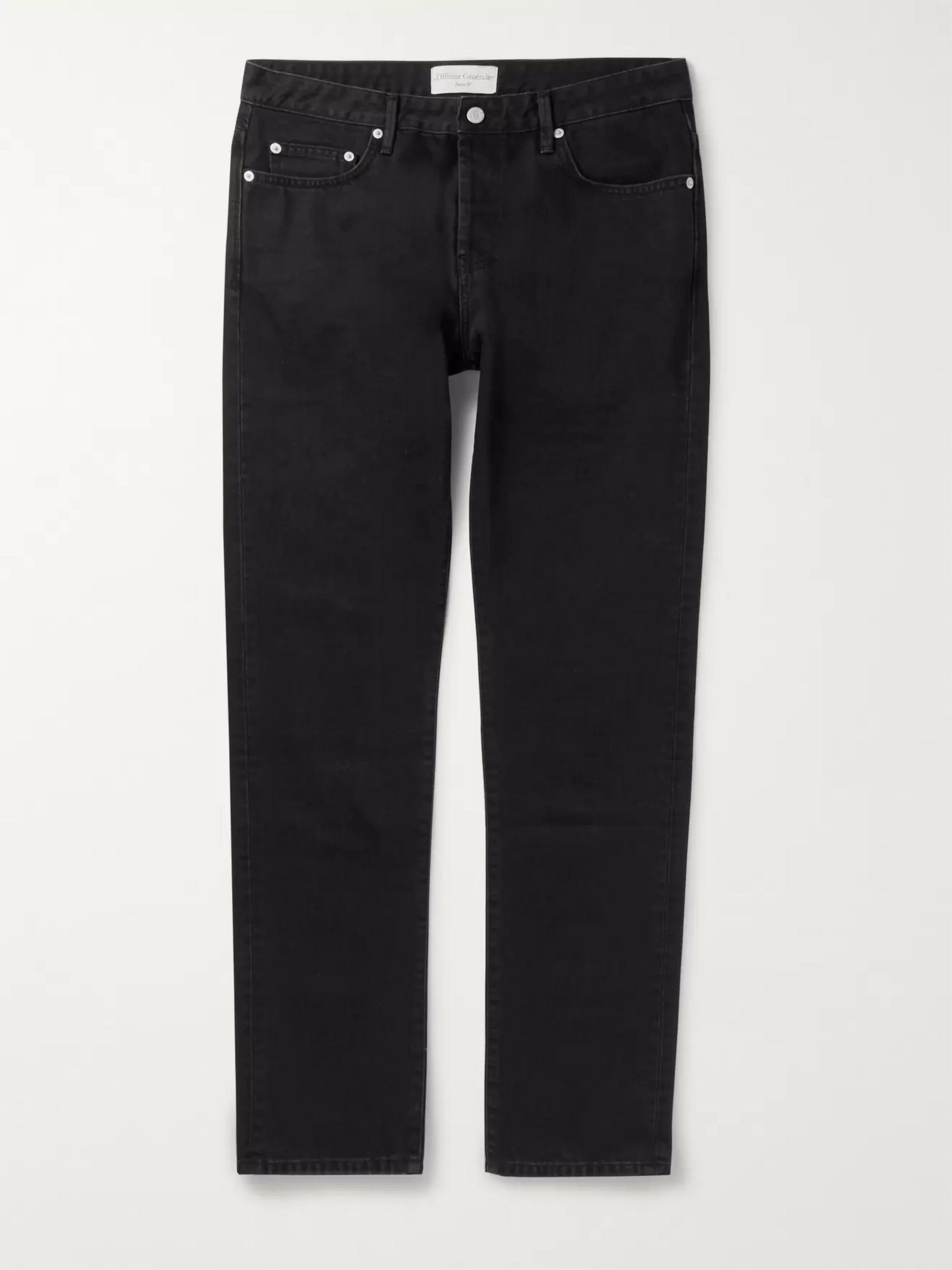 Officine Generale Kurt Slim-Fit Denim Jeans