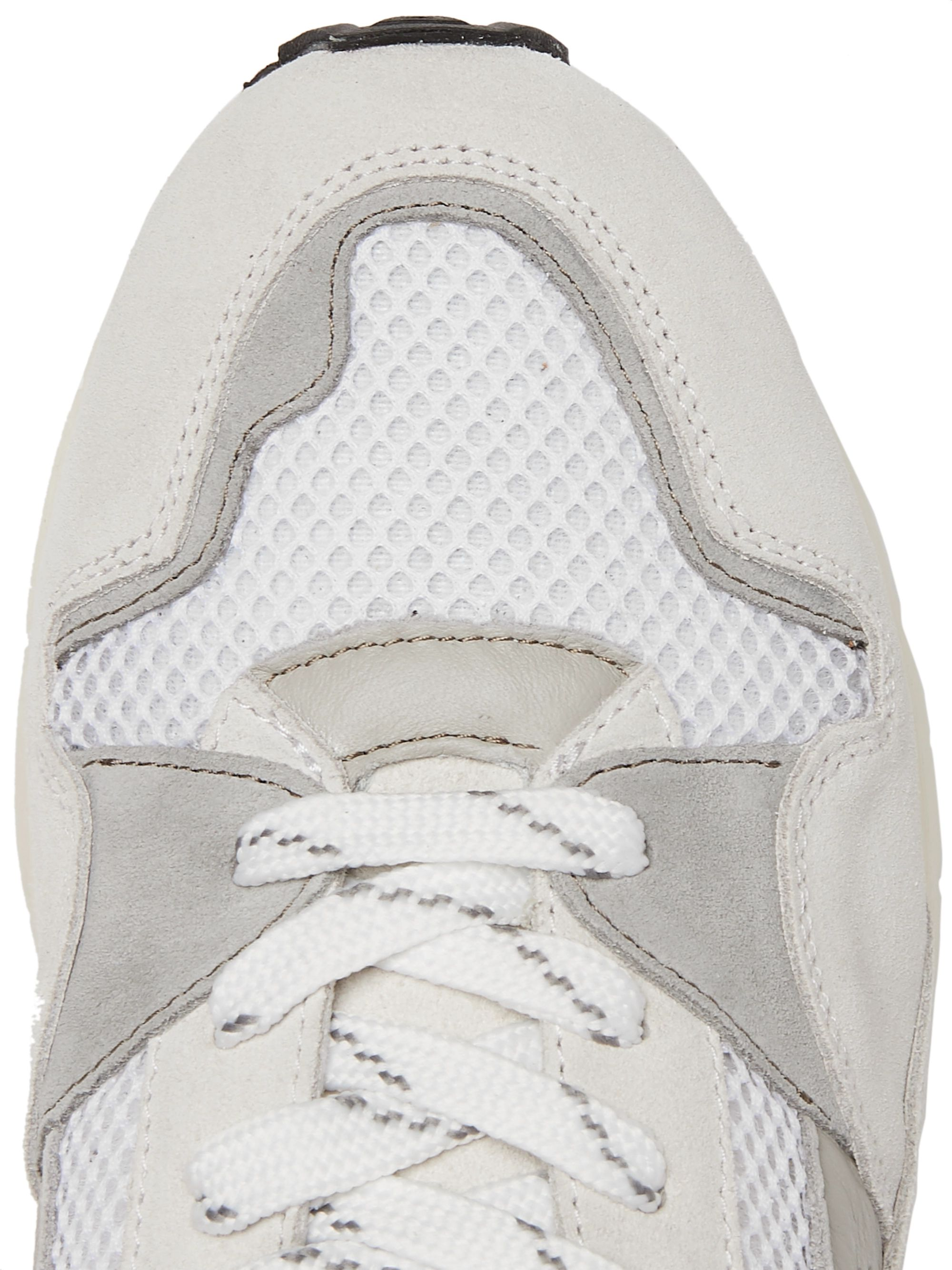 Officine Generale Doug Mesh, Suede and Leather Sneakers