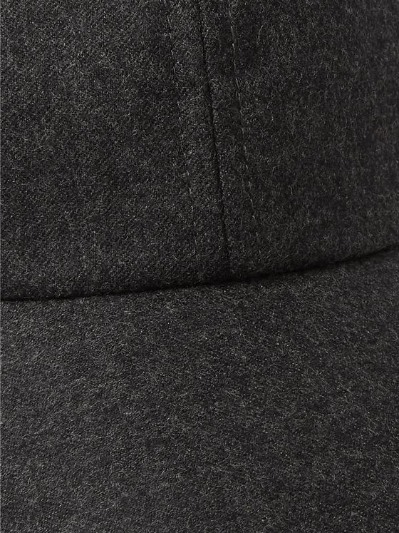 Officine Generale Wool-Flannel Baseball Cap