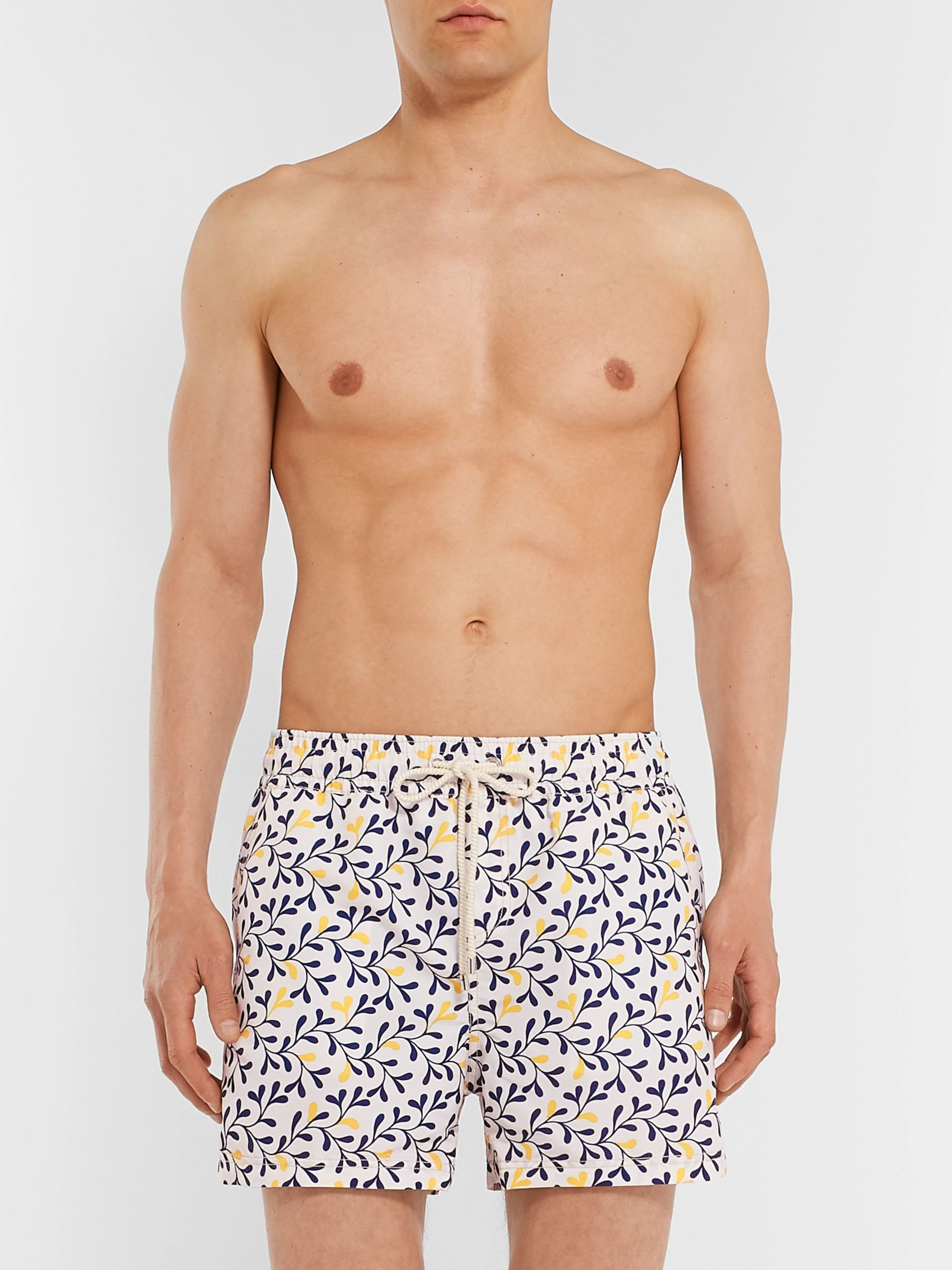 Atalaye Loupas Short-Length Printed Swim Shorts