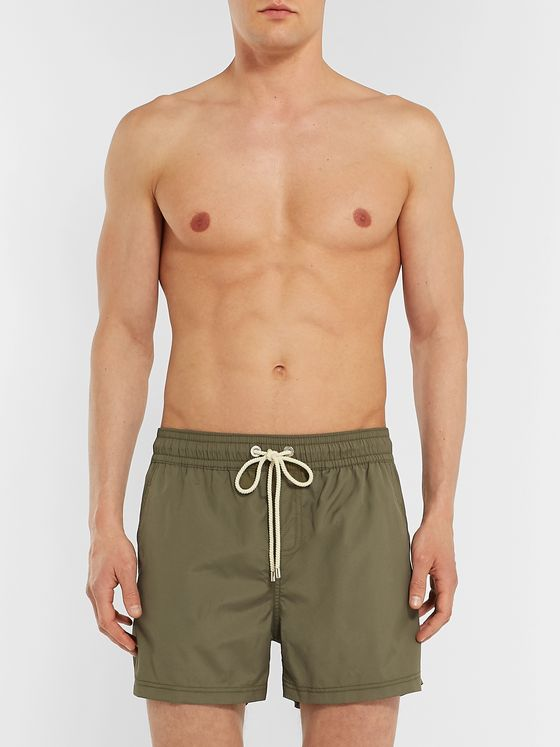 Atalaye Fregate Recycled Short-Length Swim Shorts