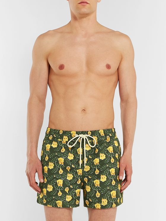 Atalaye Tamaris Short-Length Printed Swim Shorts