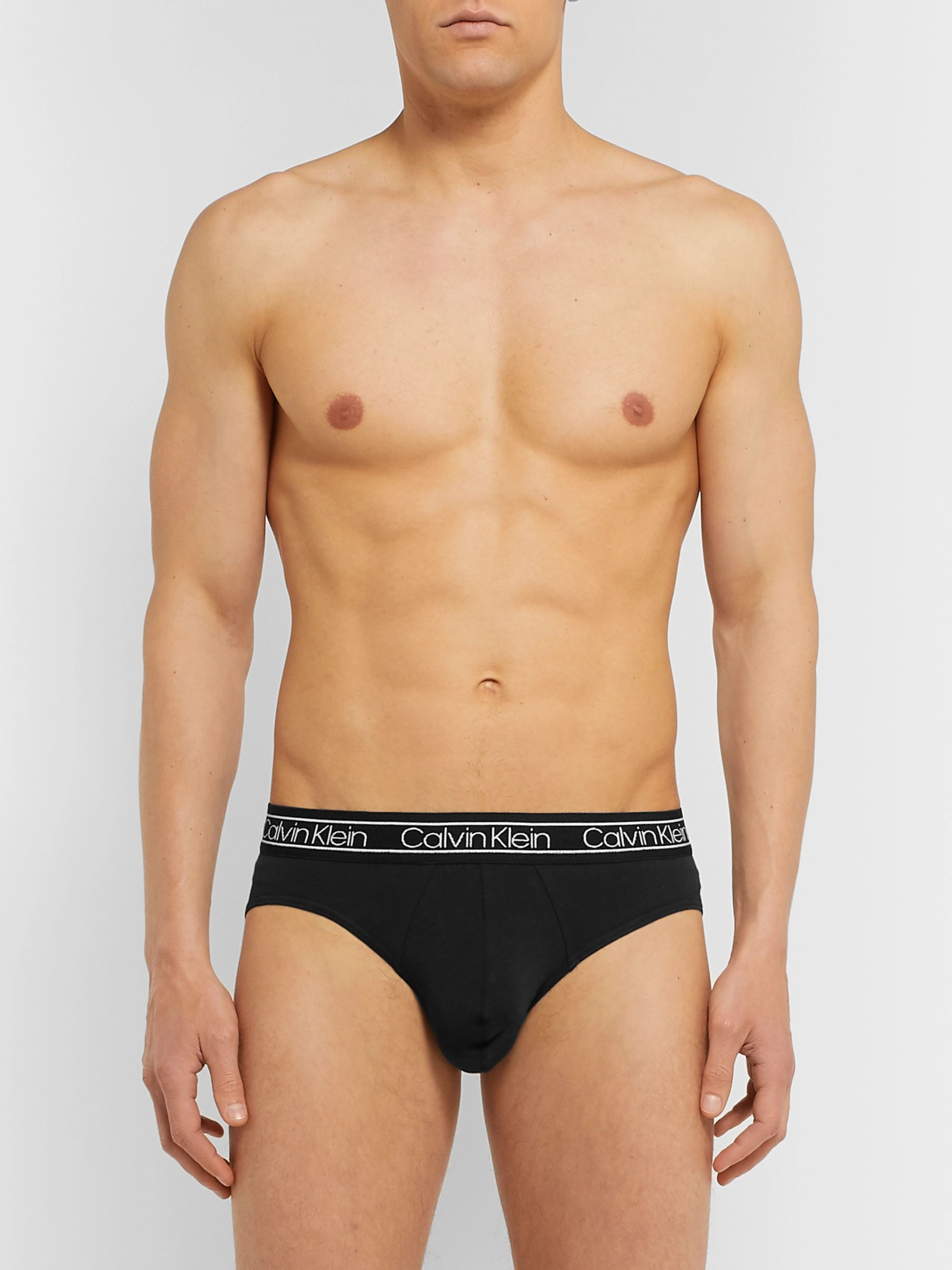 Calvin Klein Underwear Stretch-Cotton Briefs