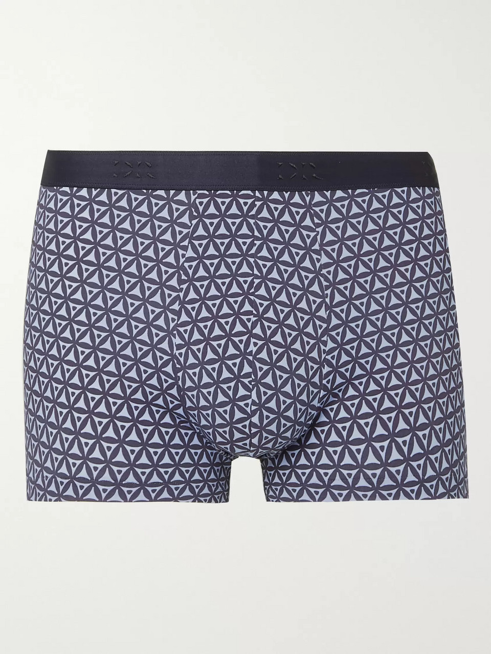 Derek Rose Printed Stretch-Cotton Boxer Briefs