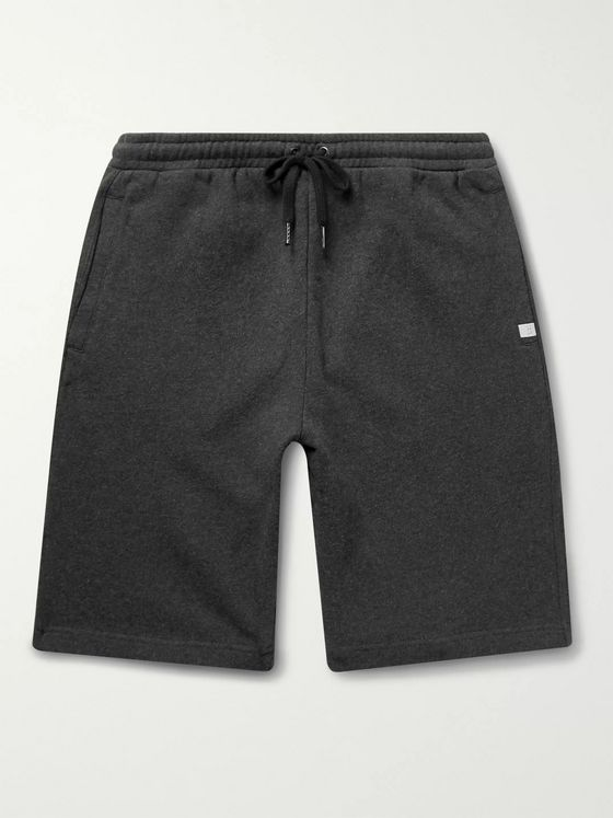 Derek Rose Devon Slim-Fit Brushed Loopback Cotton-Jersey Shorts
