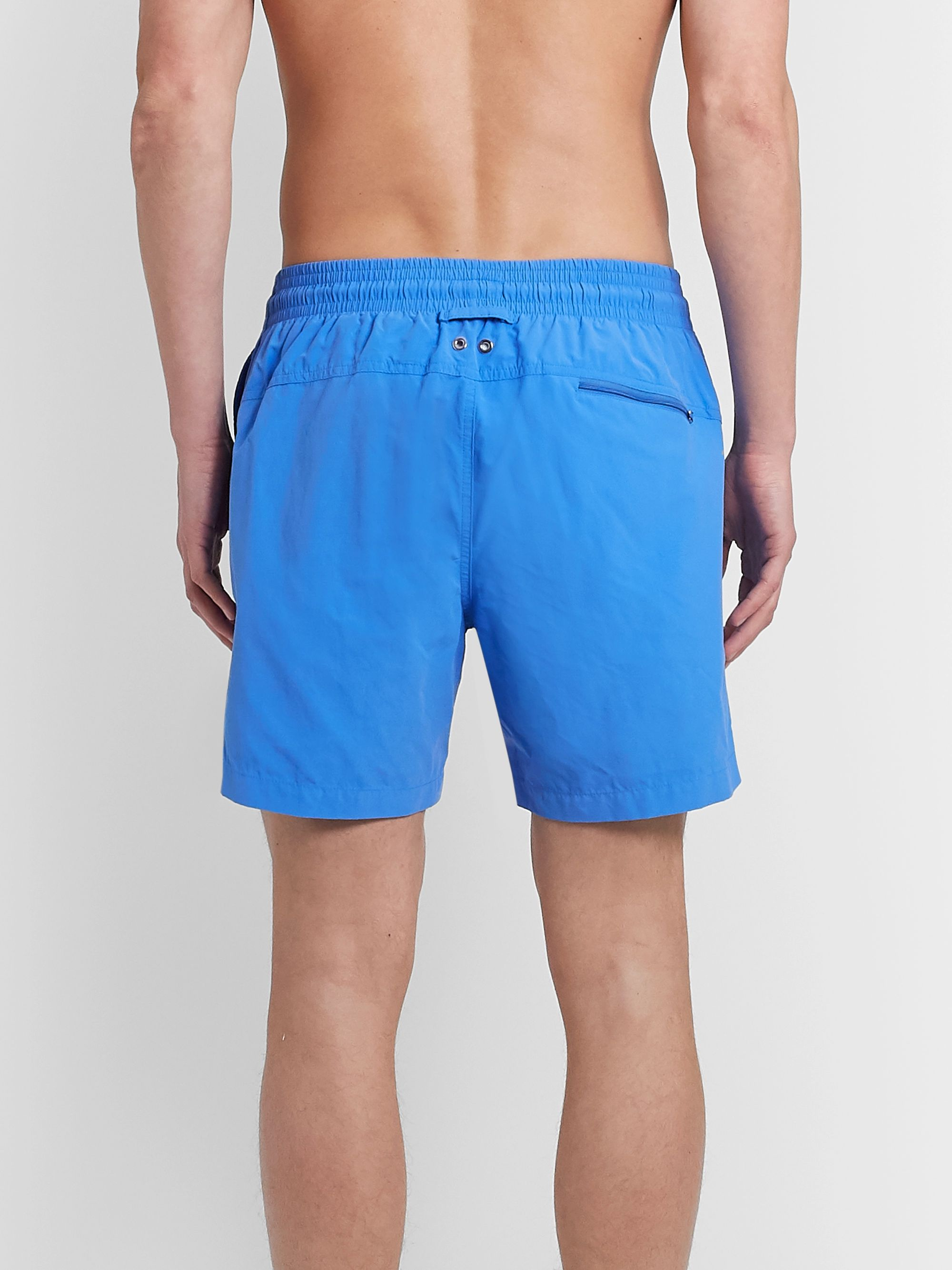 Derek Rose Aruba Slim-Fit Mid-Length Swim Shorts