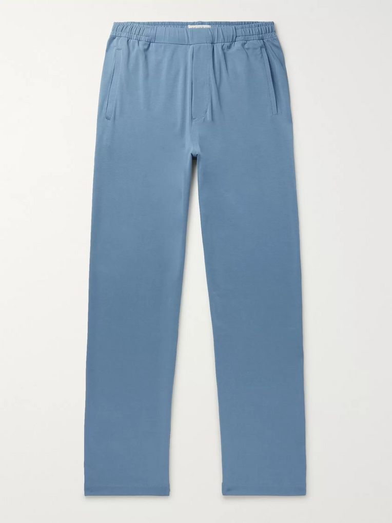 Hamilton and Hare Stretch Lyocell and Cotton-Blend Pyjama Trousers