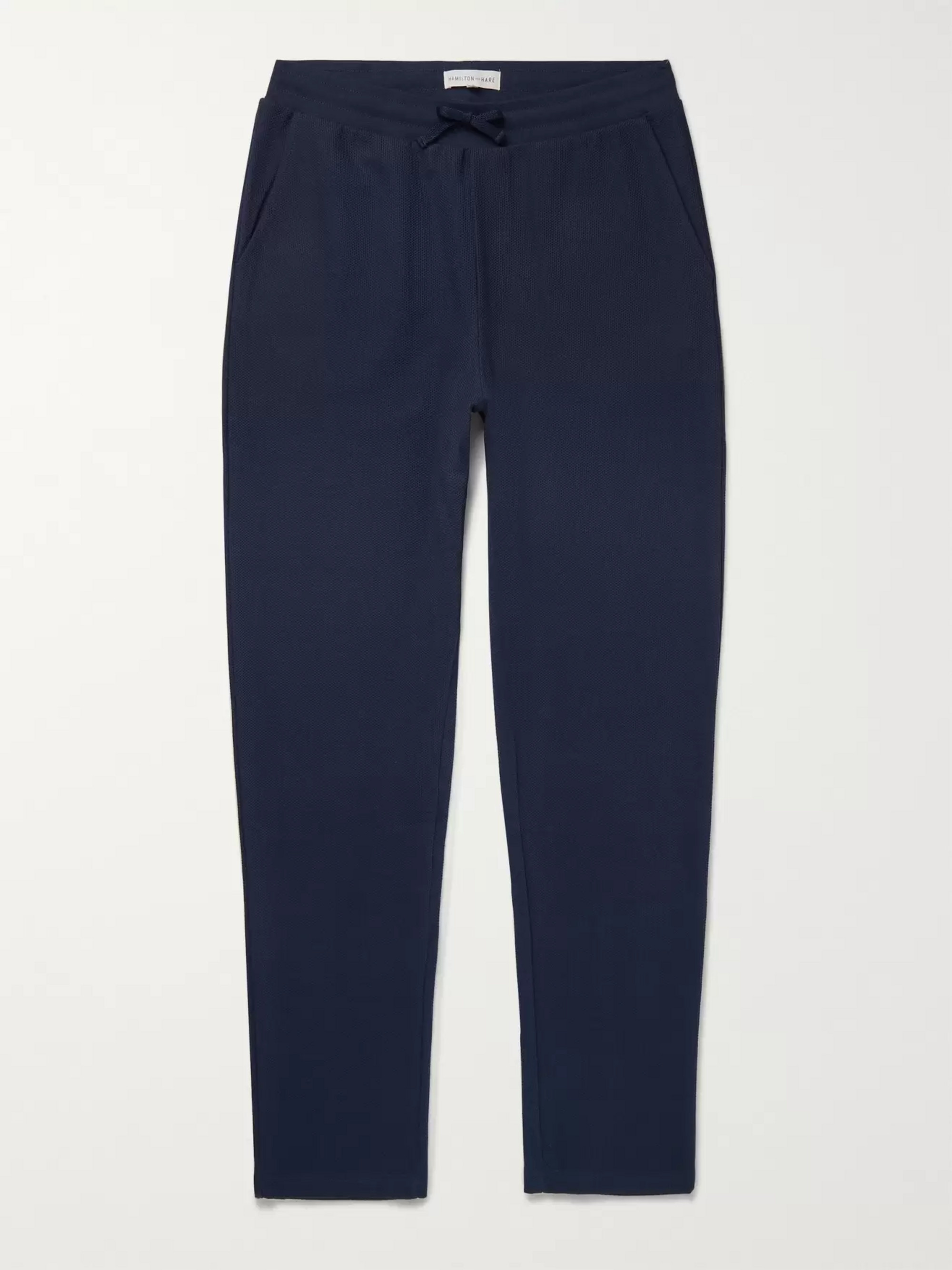 Hamilton and Hare Timeout Birdseye Cotton Sweatpants