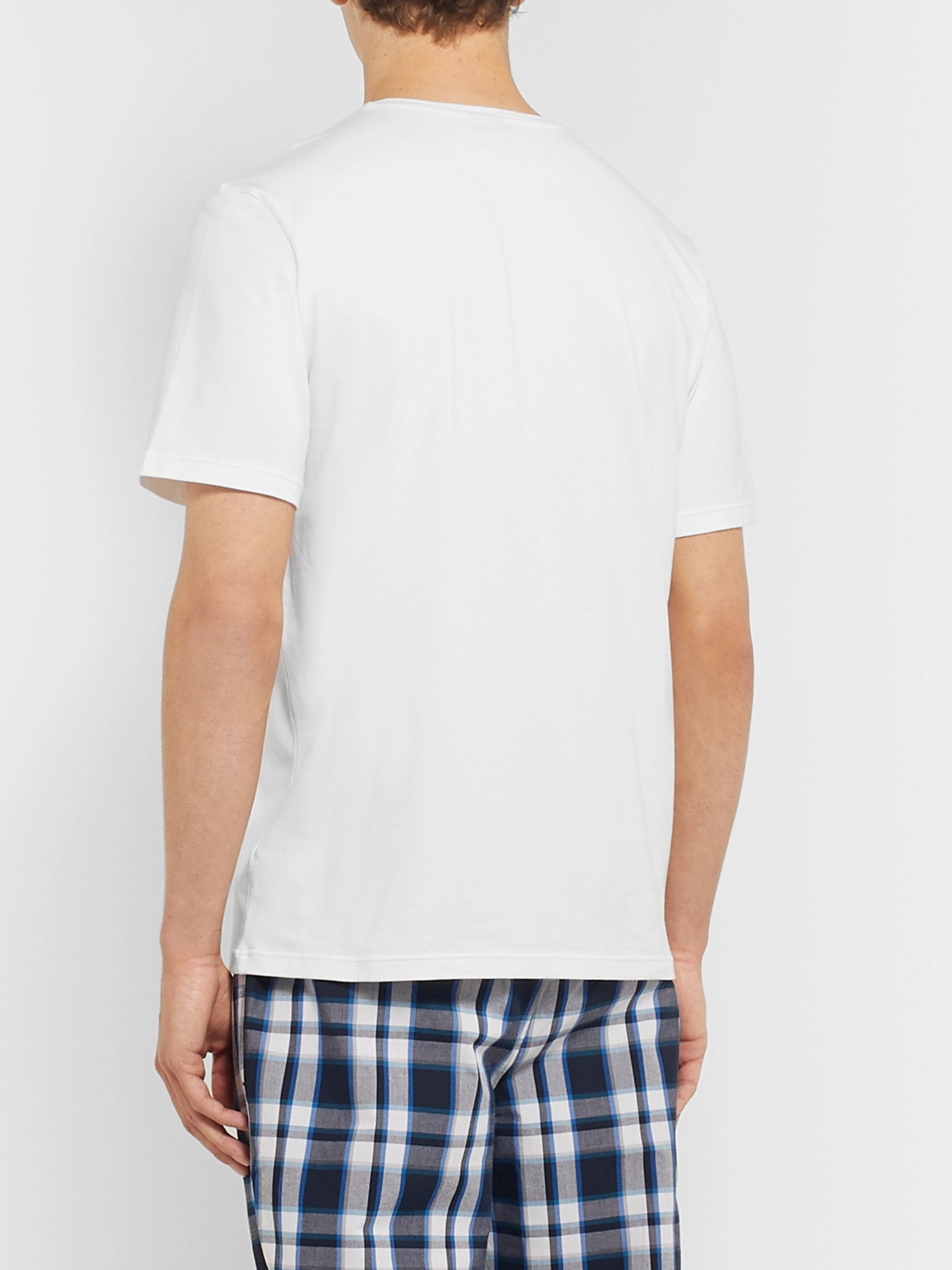 Hugo Boss Stretch-Cotton Jersey T-Shirt