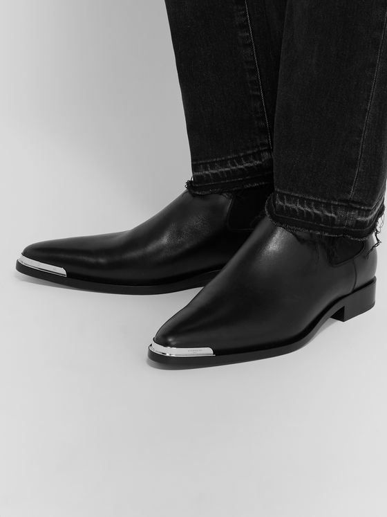Givenchy Dallas Leather Chelsea Boots