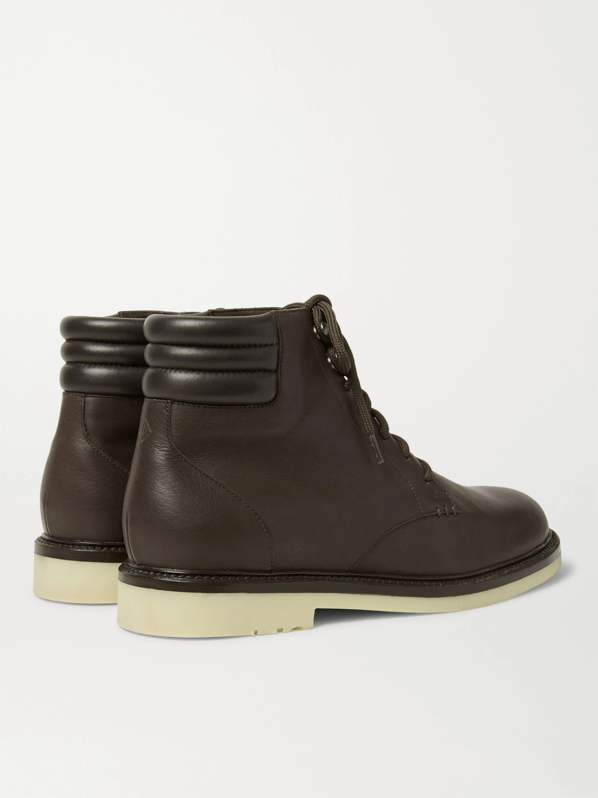 Loro Piana Icer Walk Leather Boots
