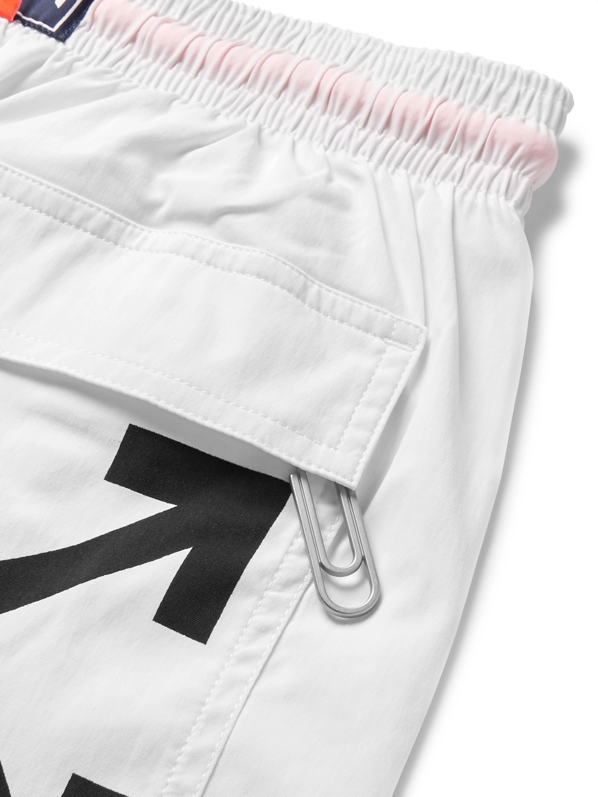 Off-White + Vilebrequin Slim-Fit Mid-Length Swim Shorts