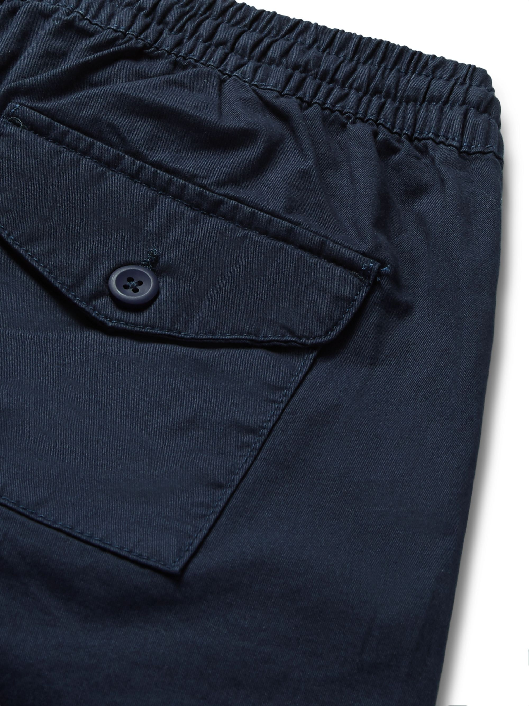 Onia Aiden Slim-Fit Cotton-Twill Drawstring Chino Shorts