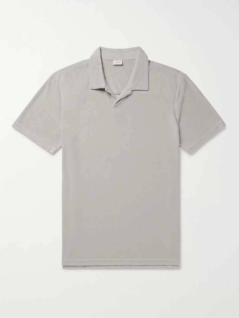Onia Modal-Blend Terry Polo Shirt