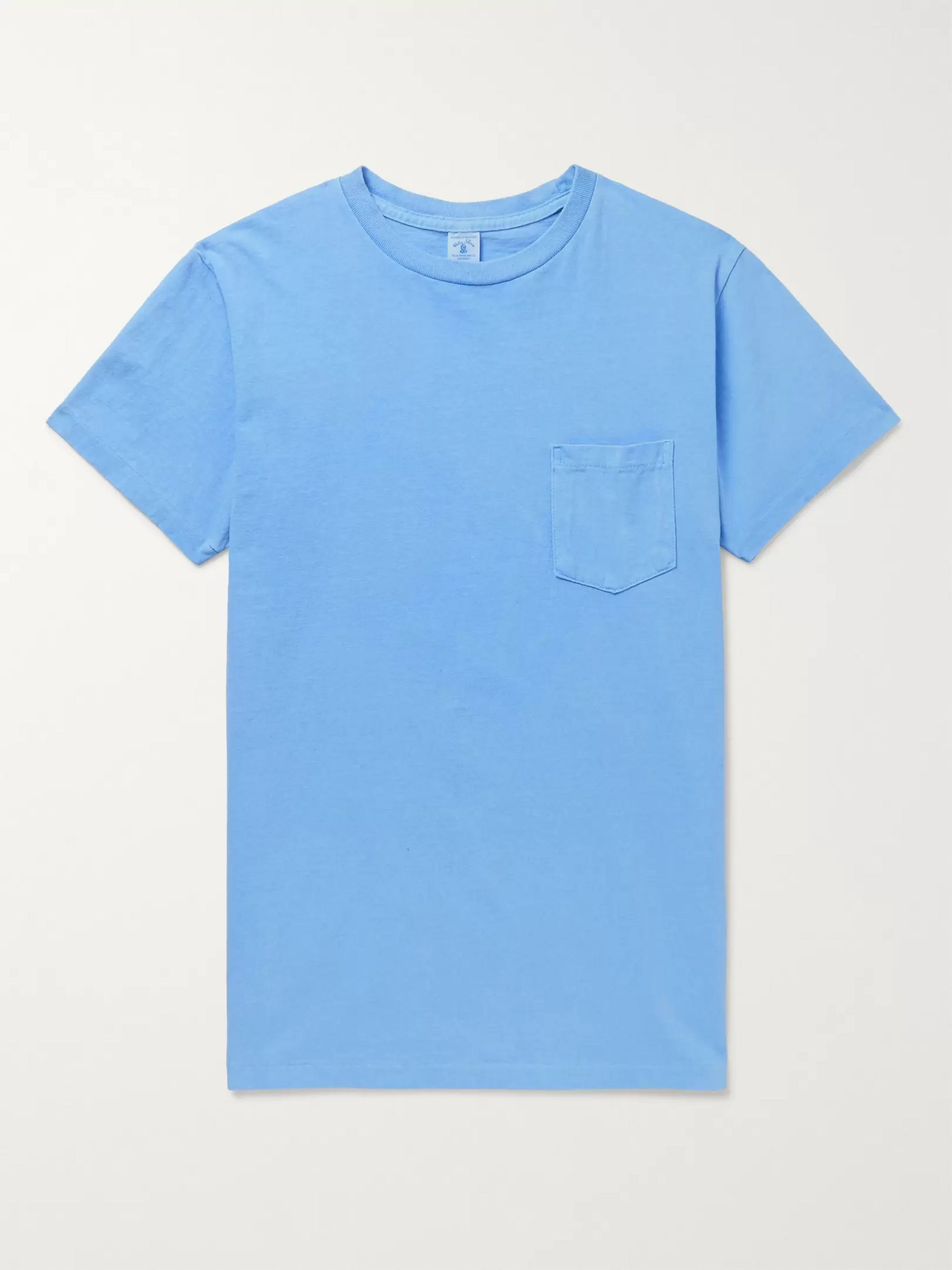 Velva Sheen Garment-Dyed Cotton-Jersey T-Shirt