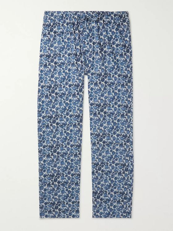 Zimmerli Printed Cotton Pyjama Trousers