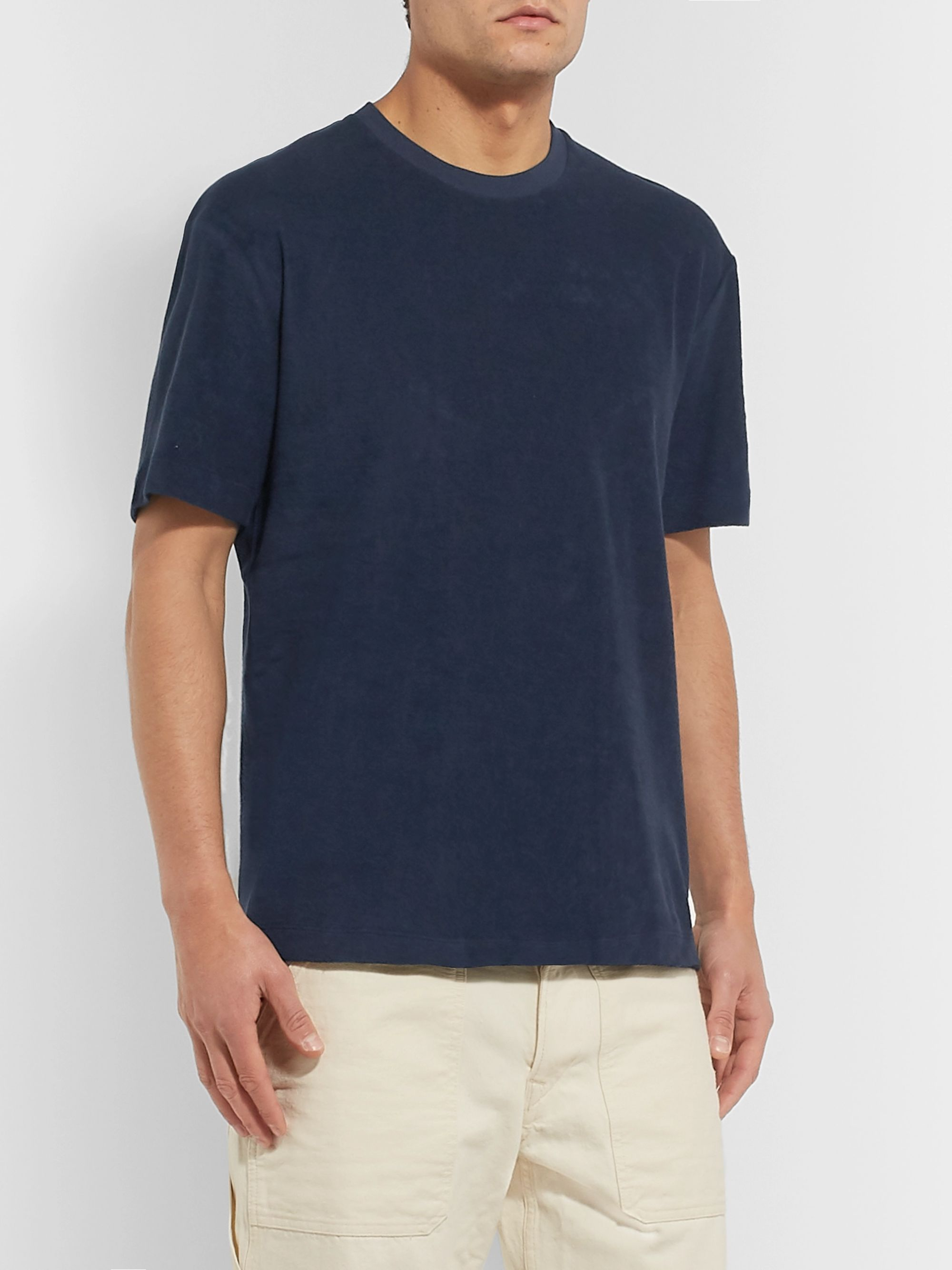 Sunspel Cotton-Terry T-Shirt